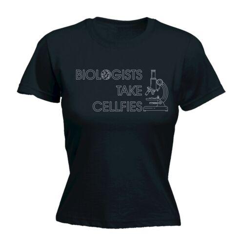 Biologists Take Cellfies WOMENS T-SHIRT tee birthday biology college university