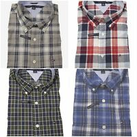 Nwt Tommy Hilfiger Mens Woven Long Sleeve Button Down Shirt