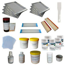 Techtongda T Shirt Screen Printing Materials Kit Simple Diy Tools Squeegees