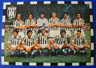 CARTOLINA ORIGINALE CALCIO SQUADRA JUVENTUS 1978/79 - cm. 15X21