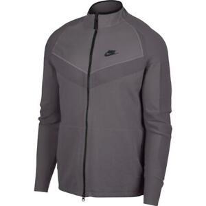 Nike-Tech-Knit-Mens-Full-Zip-Hoodie-Grey-Size-M-Jacket-Gym-Training-Top