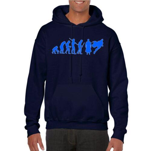 Mens Funny Printed Hoodies-Superman Evolution-Funny Gifts tshirts