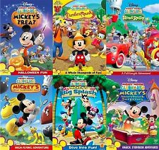 Mickey Mouse Clubhouse DVD Set Disney All Kids Series TV Donald Collection Lot 1