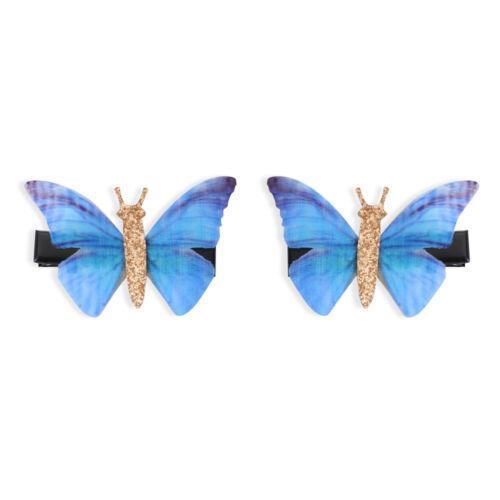 Partei Haarklammer für Schmetterlinge Rhinstones Haarnadel Zubehör für Haare