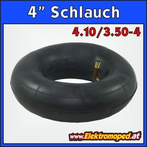 """Ersatzteil Elektro-Scooter 4"""" Schlauch 4.10/3.50-4"""
