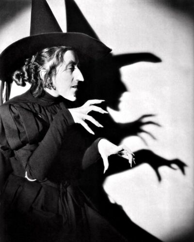 Wizard of Oz Wicked Witch of the West New Restored Satin Finish Photo 5 Sizes