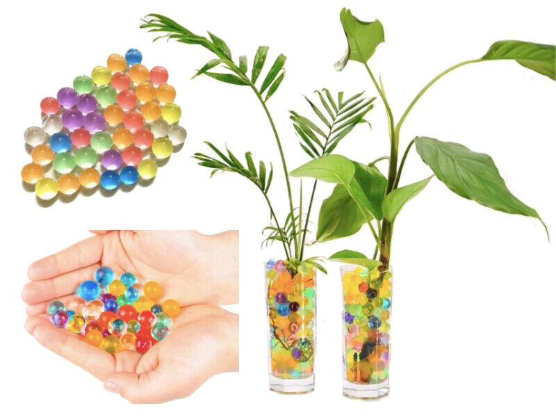 Blumen, Blüten & Girlanden Granulat Künstliche Blumenerde Gelkugeln Gelperlen Hydroperlen Wasserperlen Deko Möbel & Wohnen
