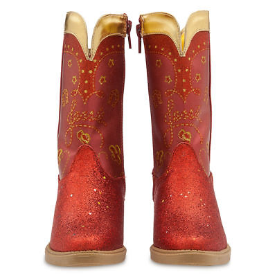 Disney Store Toy Story Jessie Girl Costume Boots Shoes Size 11//12