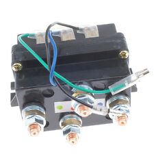 DC 12V500A Electronic Wench Relay with Solenoid for 5000lb 12000lb ATV UTV Truck