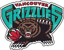 "Vancouver Grizzlies Basketball NBA Bumper sticker, wall,vinyl, bumper 5""x 4"""