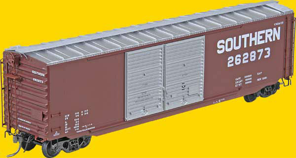 HO Scale - KADEE 6728 SOUTHERN 50' PS-1 Boxcar 15' DBL Youngstown Doors