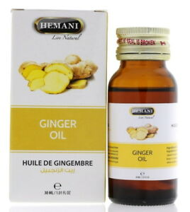 Original-Hemani-Ingwer-Ol-Ginger-Oil-30-ml-Spitzen-Qualitat-Haare-Hautpflege