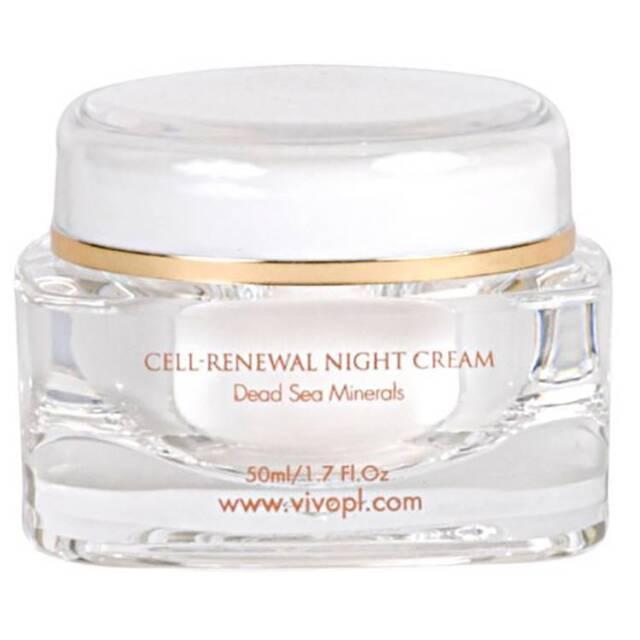 Brand New in Box, Vivo Per Lei Cell Renewing Facial Night Cream... Size 1.7OZ