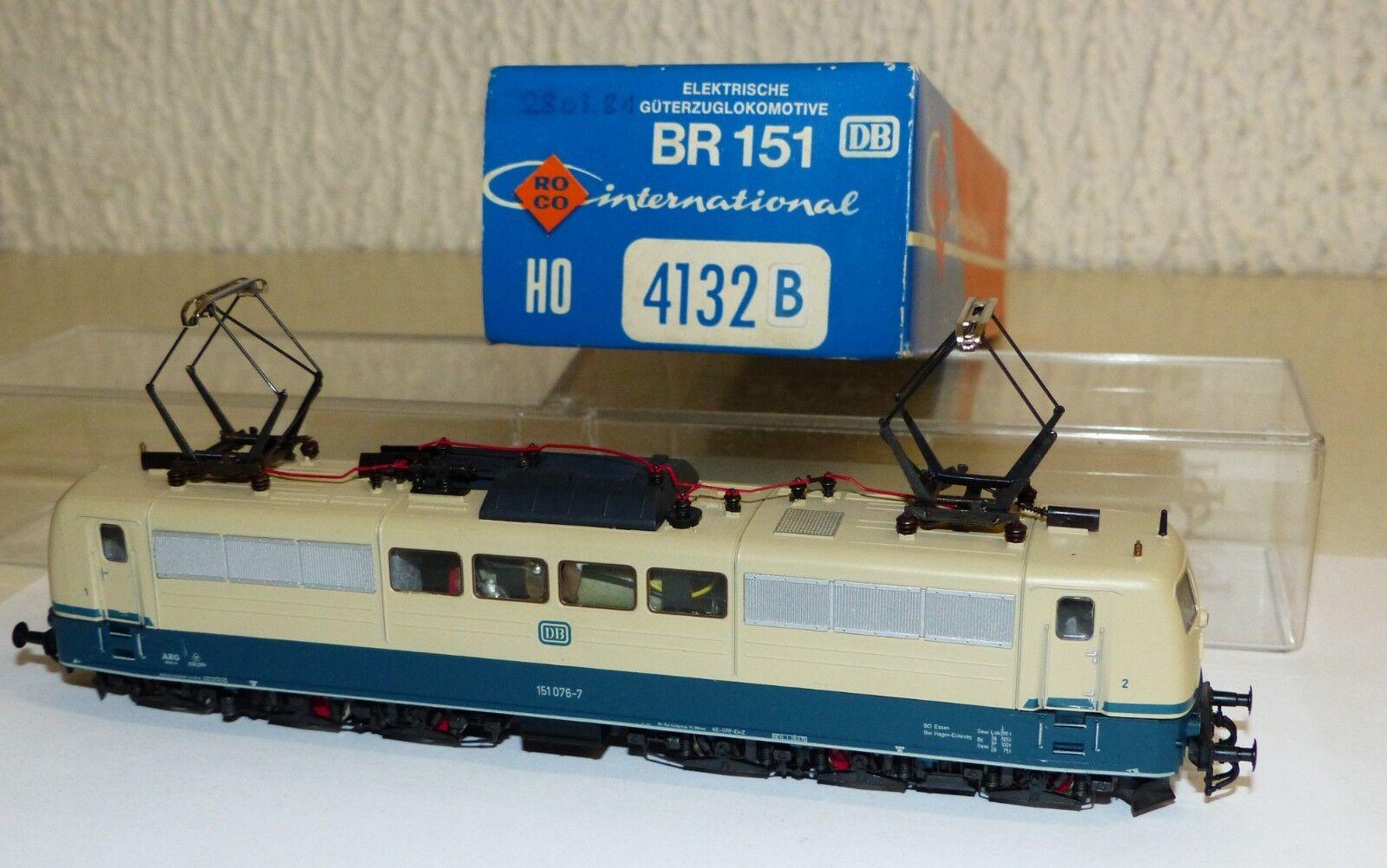 Roco 4132 B E-Lok BR 151 076-7 DB OVP H0 1 87 guter Zustand Elektrolok