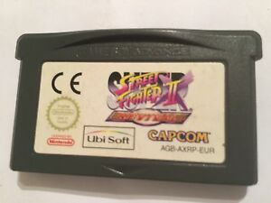 NINTENDO-GAME-BOY-ADVANCE-GBA-SP-MICRO-GAME-SUPER-STREET-FIGHTER-II-REVIVAL