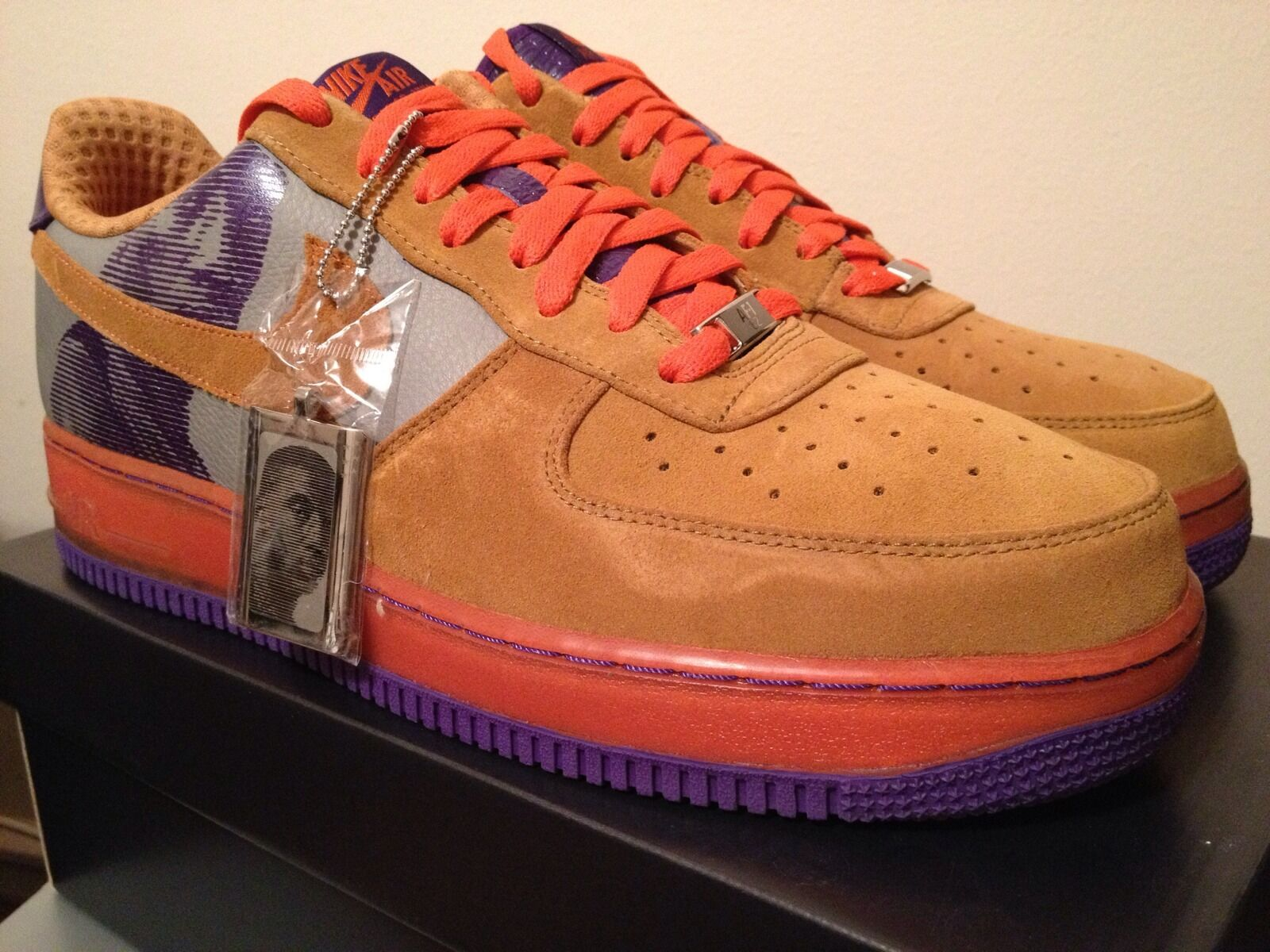 Nike Air Force 1 Premium '07 Amare Stoudamire Size 12 DEADSTOCK AF1
