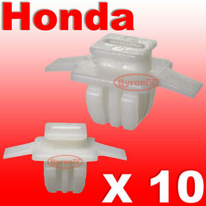 Honda-Civic-CR-V-CRV-Rueda-Delantera-Arco-Trim-Clips-envolvente-exterior-Delantero-Ala-10