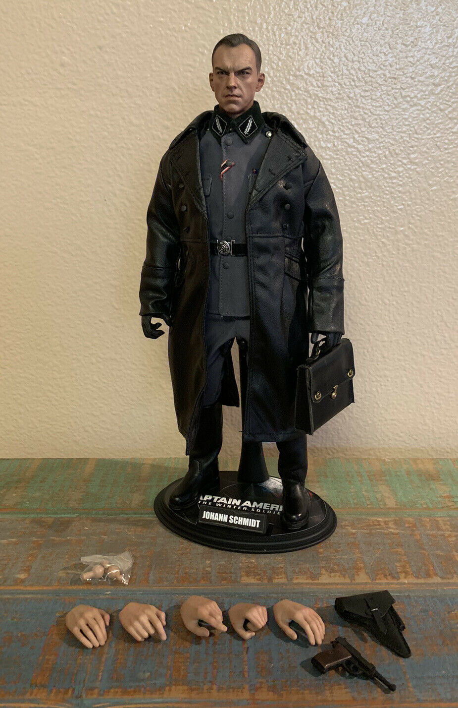Hot Toys 1/6 Captain America Johann Schmidt Custom Inglorious Basterds Hans Fig on eBay thumbnail