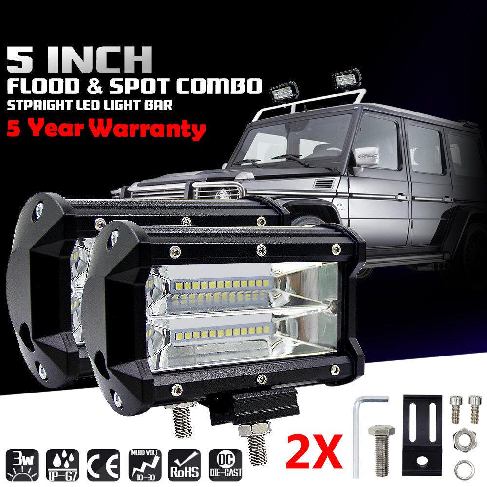 """LED 19/"""" Arbeitsscheinwerfer für KFZ Rallye Auto LKW Jeep Lichtbalken 12V//24V DE"""