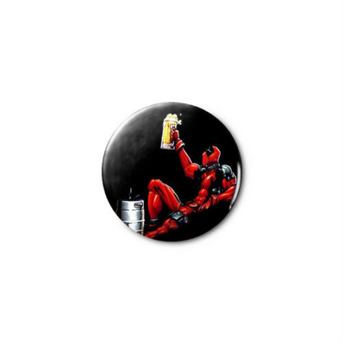 1.25in Pins Buttons Badge *BUY 2 c GET 1 FREE* Deadpool