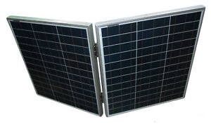 Home Improvement 160w 12v Folding Portable Solar Panel With Handle Boating Motorhome Caravan