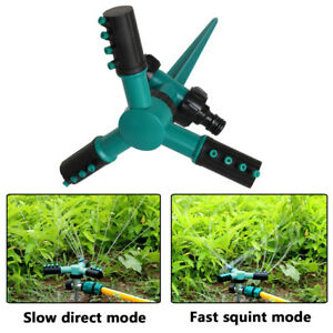 Automatic 360 Rotating 5-Arms Sprayer Irrigation Garden Lawn Water Sprinklers #v