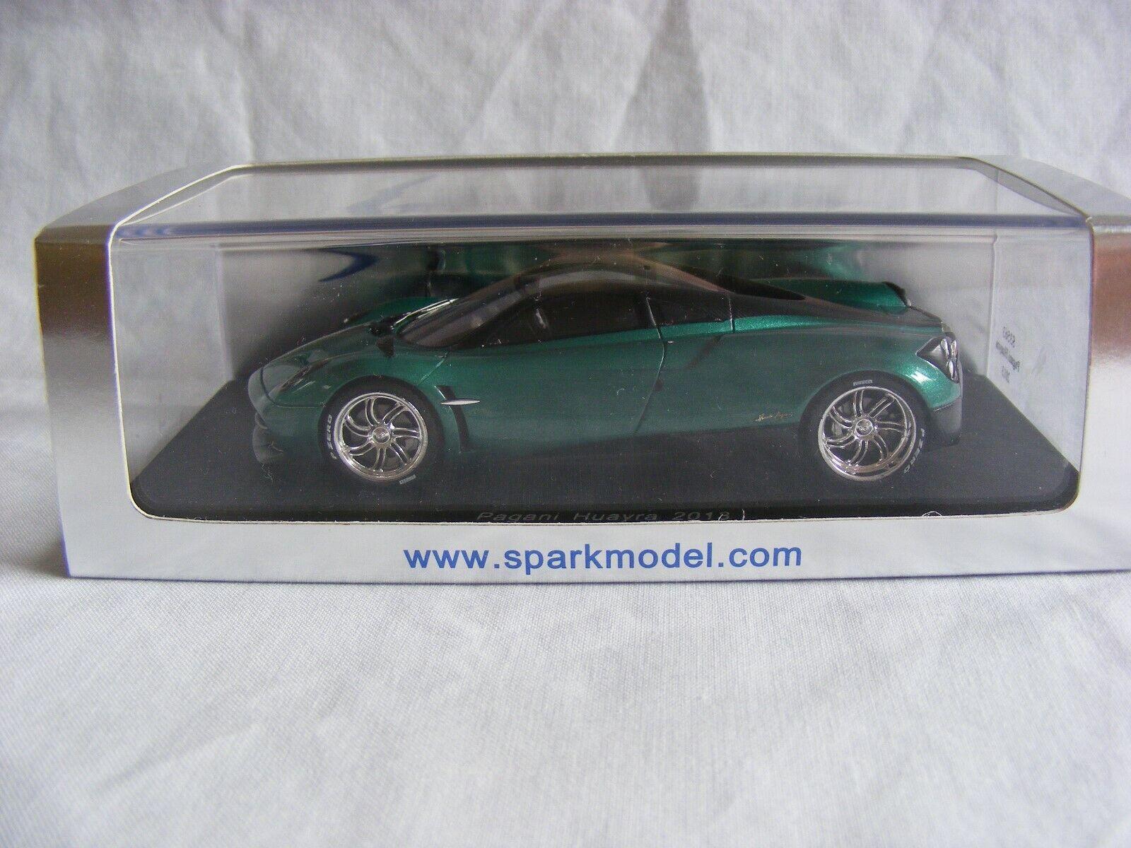 2013 PAGANI HUAYRA RHD - 1 43 Scale-SPARK-NEUF