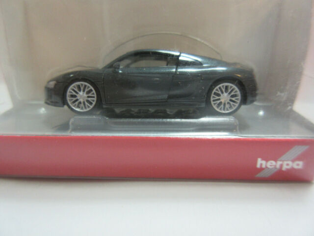 Audi R8 V10 Plus Spyder 1:87 Dynamitrot 5011618521 Modellauto Miniatur Rot Herpa