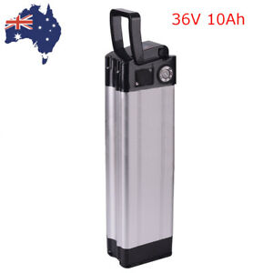 36V-10Ah-Silver-Fish-Lithium-Li-ion-Battery-Pack-350W-Electric-Bicycle-E-Bike