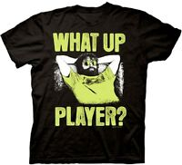 Official The Hangover What Up Player T-shirt -comedy Movie Bradley Cooper Zach
