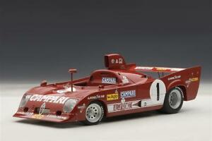AUTOART-1-18-ALFA-ROMEO-33-TT-WINNER-NURBURGRING-1975-MERZARIO-LAFFITE-1-NEW