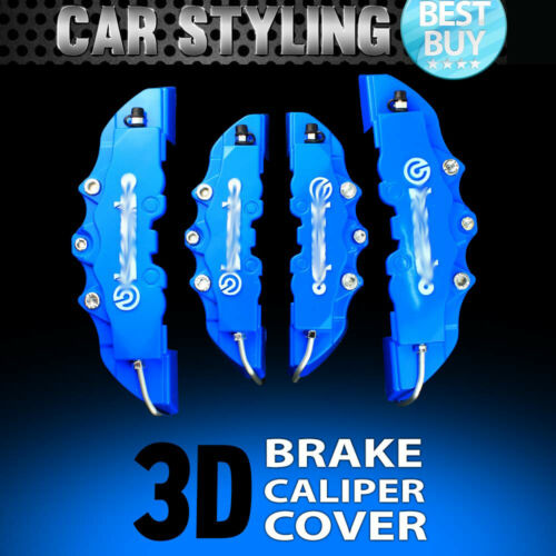 4pcs Blue Disc Brake Caliper Cover Kit For Jaguar F-Pace F-Type S-Type XE XF XJR