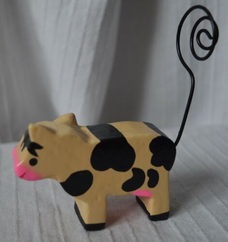 Farm Animal Photo Holder wedding table card name place clip memo note decoration