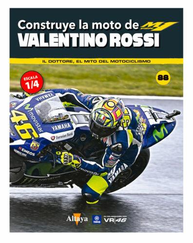 parts of Valentino Rossi Yamaha YZR-M1 2016 1//4 scale Altaya Planeta DeAgostini