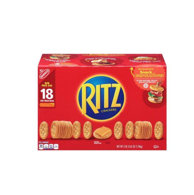 Nabisco Ritz Crackers (3.43 oz., 18 ct.)