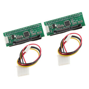 2Pcs-IDE-to-Serial-ATA-SATA-HDD-Card-Parallel-To-Serial-Hard-Drive-Converter