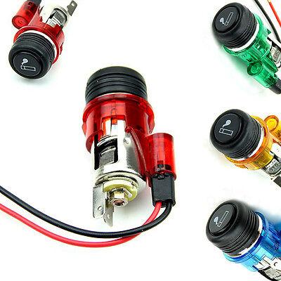 1pc 12V 120W Car Motorcycle Boat Cigarette Lighter Power Socket Outlet Plug