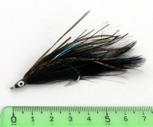 67B Flies Bar carnassiers pike pêche mouche lançon Fly Fishing sandeel