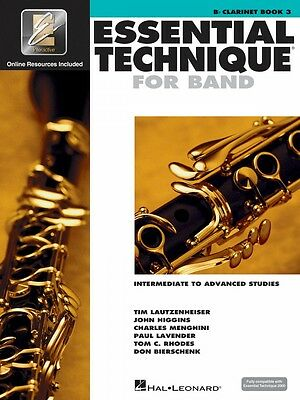 Sweet-Tempered Essential Technique For Band Intermediate-advanced Studies Bb Clarinet 000862620 Cheap Sales 50% Musical Instruments & Gear