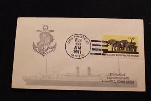 Naval-Housse-1971-Bateau-Cancel-Uss-Proteus-AS-19-4739