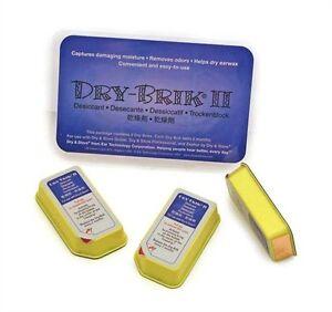 Dry Brik II Desiccant Blocks (Pack of 3 tablets) 696233740228