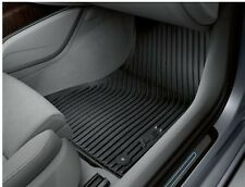 New Genuine Audi A6 2011- Front & Rear Rubber Floor Mats