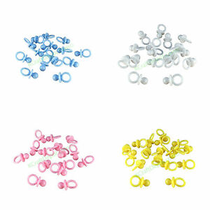 "1/"" Mini Fancy Pacifiers Baby Shower Party Game Decoration Favors U-Pick Colors"