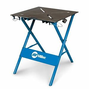 Miller-30FX-Folding-ArcStation-Work-Bench-with-2-X-Clamps-300837