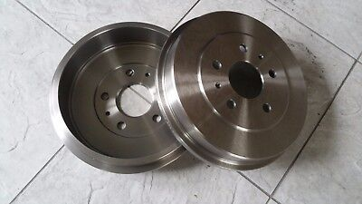 FORD FOCUS MK 2    05-10 TWO REAR BRAKE DRUMS   DIESEL MODELS