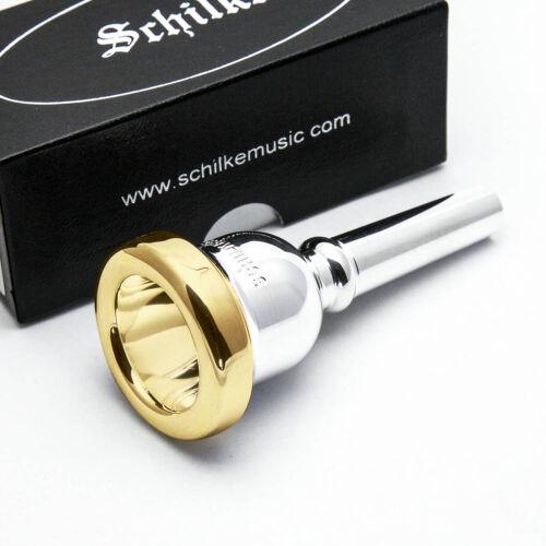 50C4 Small Shank Schilke 24K Gold Rim /& Cup Trombone Euphonium//Baritone