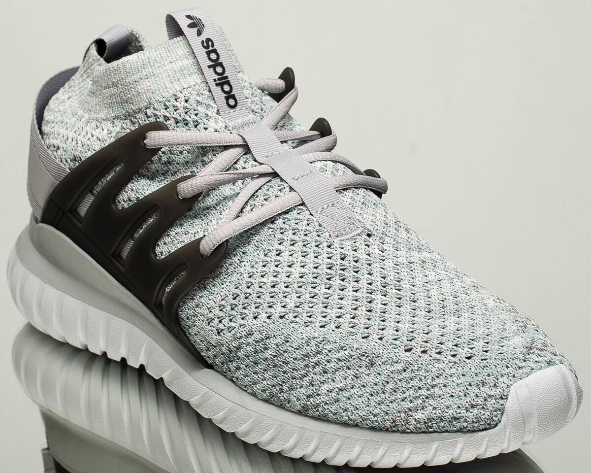 Adidas Originals Tubular Nova Primeknit nuevos zapatos de estilo de vida PK gris BB8410