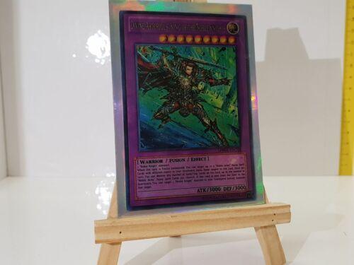 YuGiOh Orica Divine Artorigus King of the Noble Knights Holo Götter Costum m