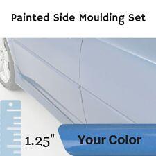 """Painted 1.25"""" Body Side Moulding Set for Hyundai Elantra Sedan (Factory Finish)"""