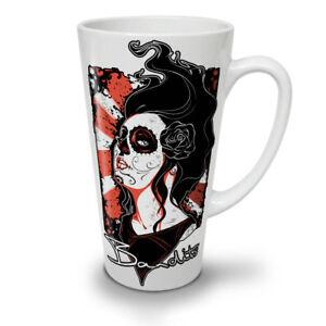Dead Bandit Rose NEW White Tea Coffee Latte Mug 12 17 oz | Wellcoda